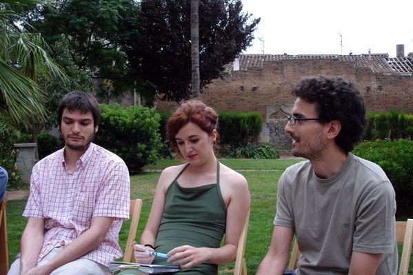 Debate | Prospeccions [Pedro Martínez Ruda, Celia Marín, Francesc Inés Hernández]